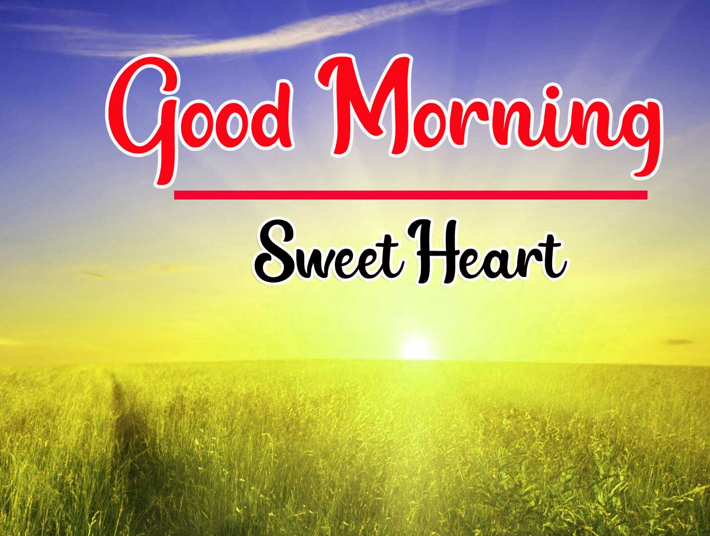 Sunrise Good Morning Photo Download for Wife