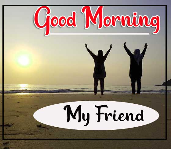 Sunrise Good Morning Wishes Images for Friend