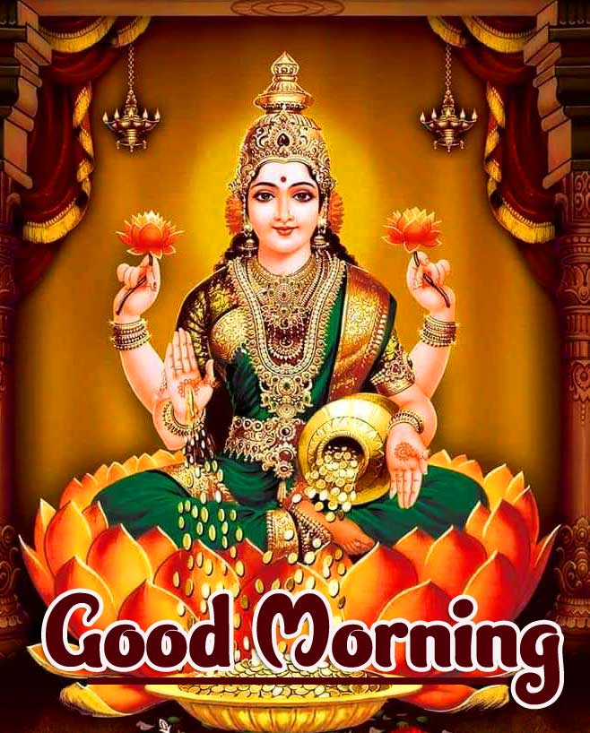 Maa Laxmi Best Good Morning Images Pics Download