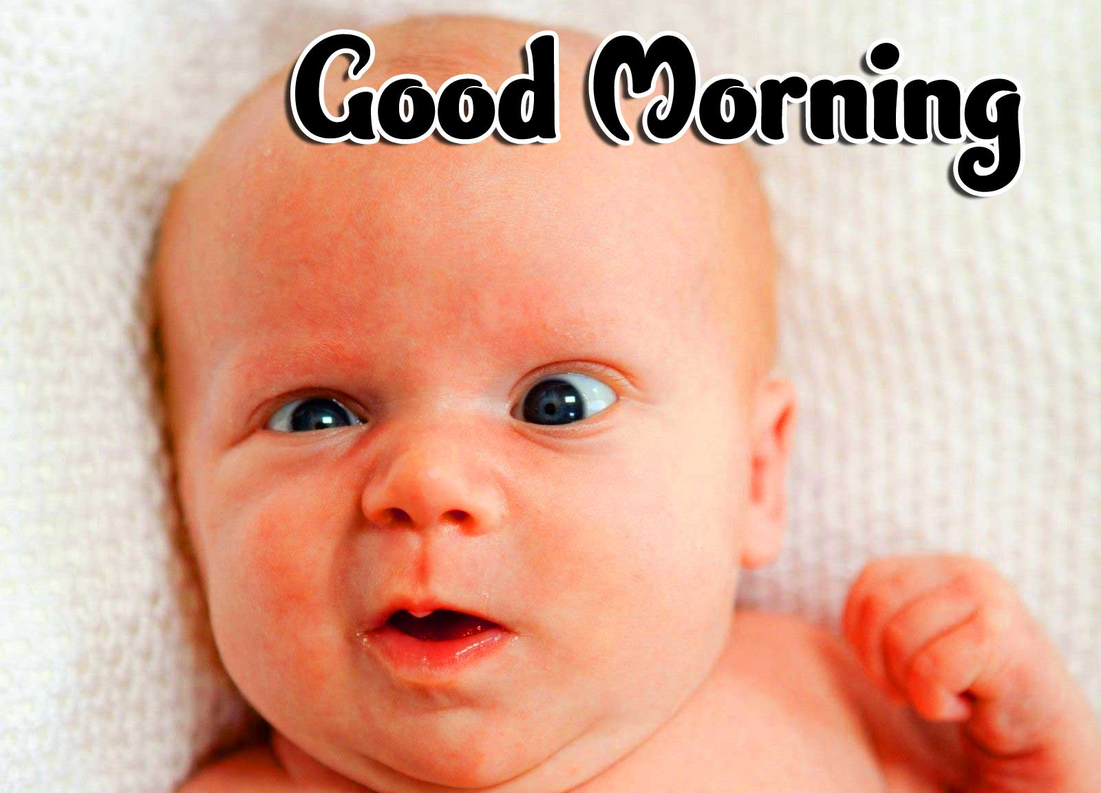Cute Baby Boys & Girls Good Morning Images Pics Download for Whatsapp