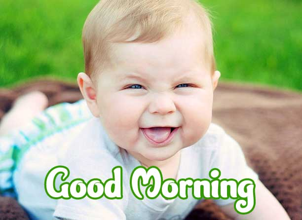 Cute Baby Boys & Girls Good Morning Images photo free Download