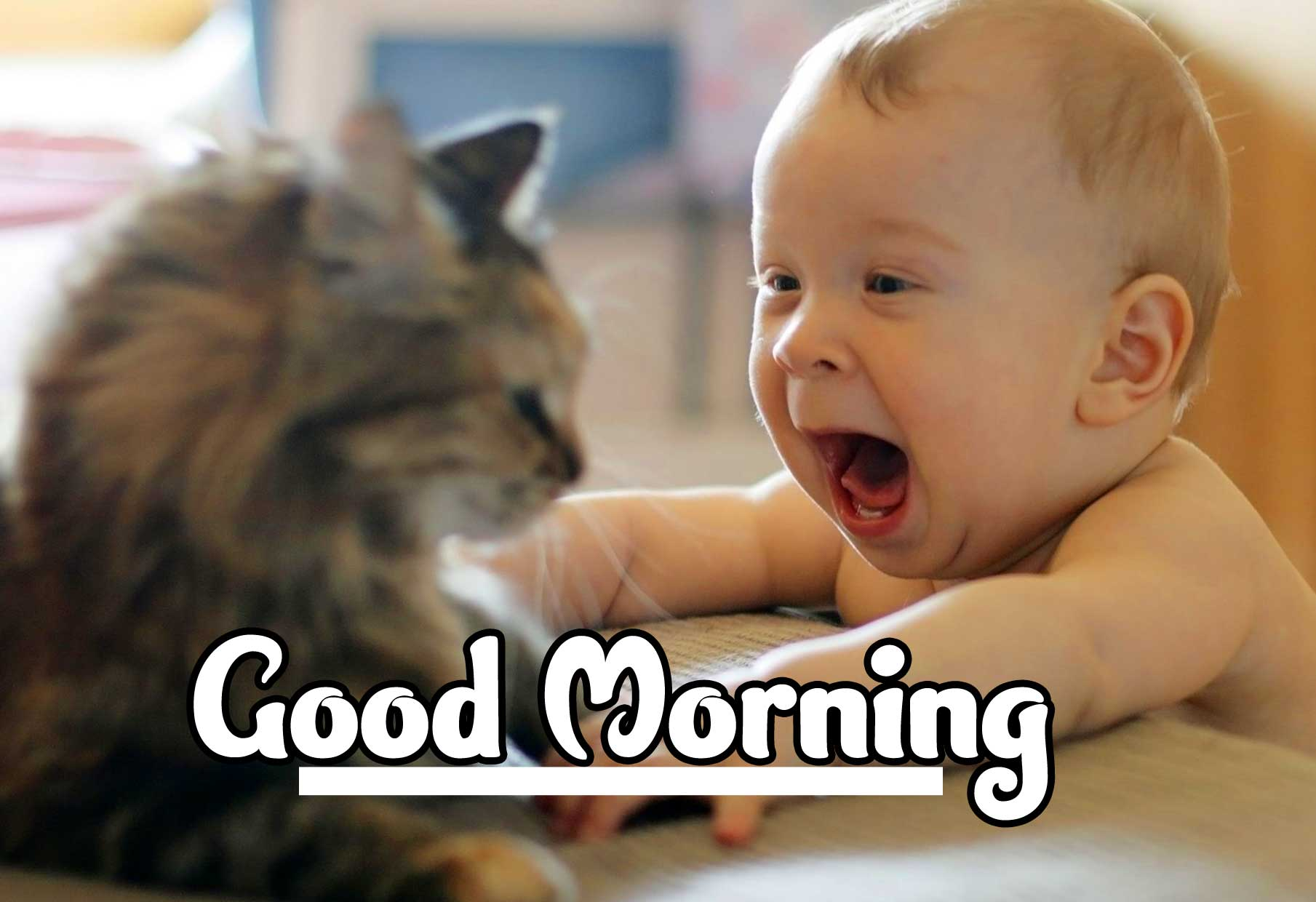 Cute Baby Boys & Girls Good Morning Images Pics Free Download