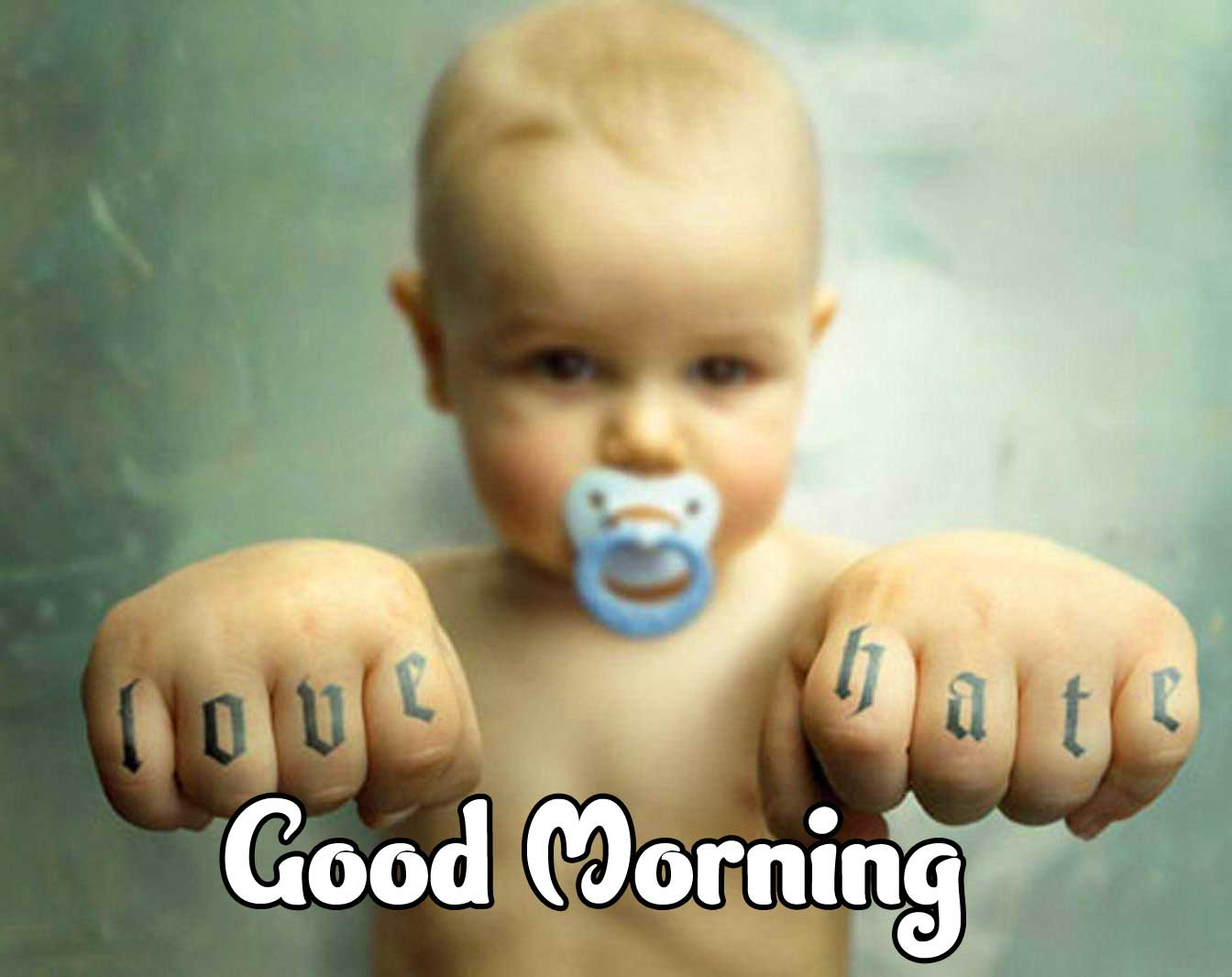 Cute Baby Boys & Girls Good Morning Images Pics Download