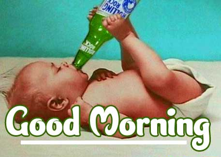 Cute Baby Boys & Girls Good Morning Images Pics Download For Facebook