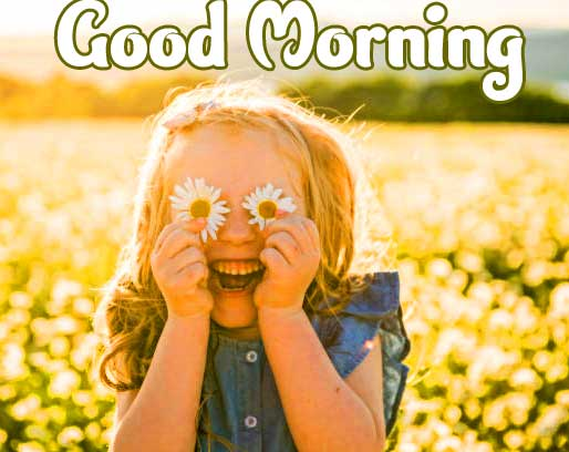 Cute Baby Boys & Girls Good Morning Images Wallpaper Download