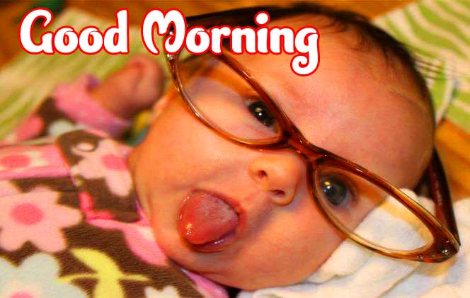 New free Cute Baby Boys & Girls Good Morning Images Pics Download