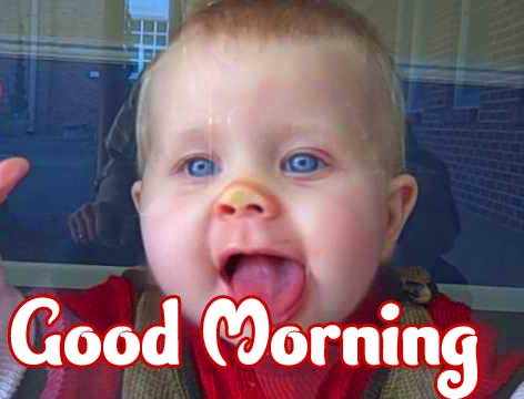 Cute Baby Boys & Girls Good Morning Images Pic Download