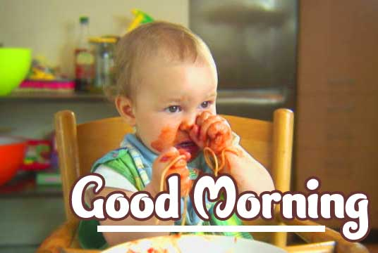 Latest Free Cute Baby Boys & Girls Good Morning Images Pics Download