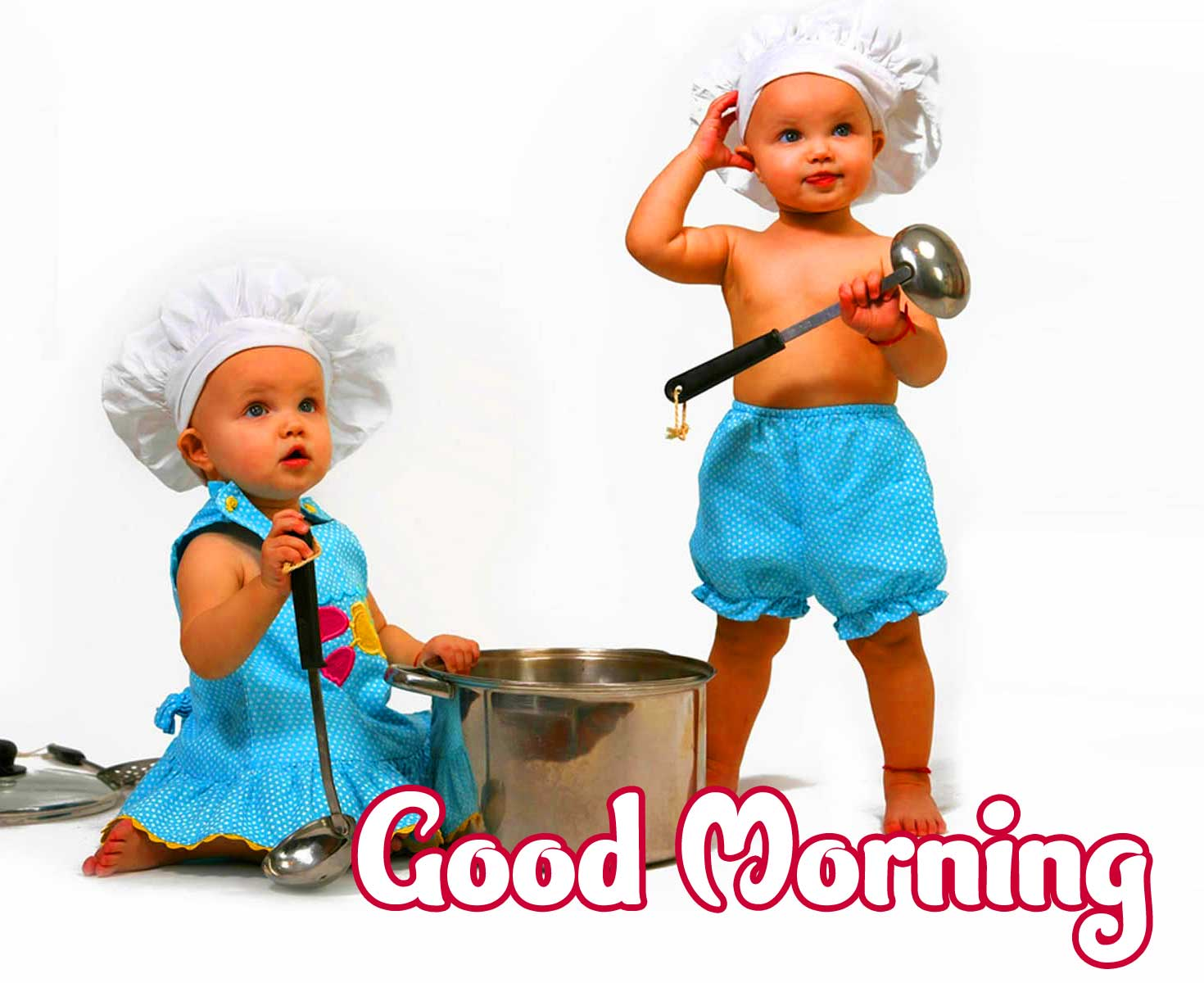 Cute Baby Boys & Girls Good Morning Images pics for Facebook