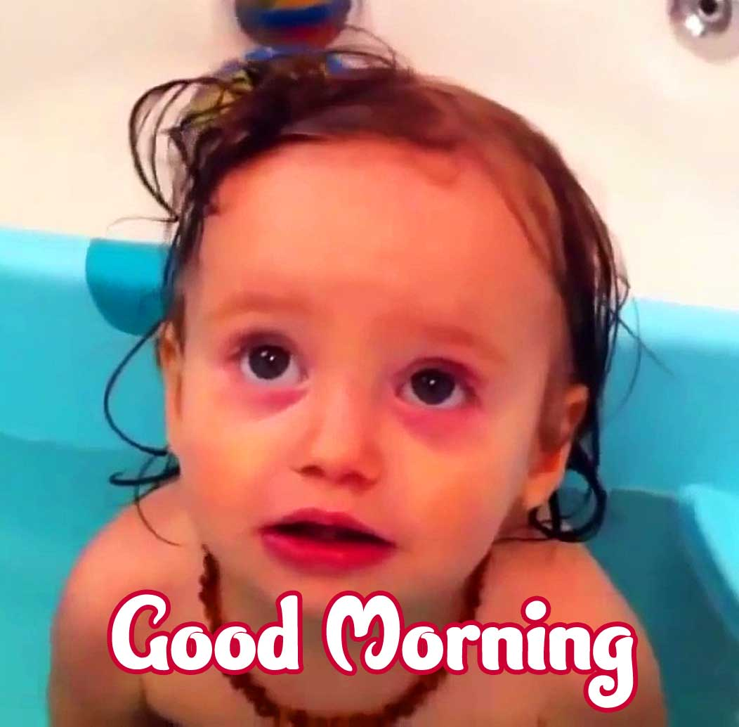 Cute Baby Boys & Girls Good Morning Images pics Wallpaper free Download