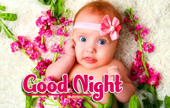Cute Good Night Images Wallpaper for Whatsapp