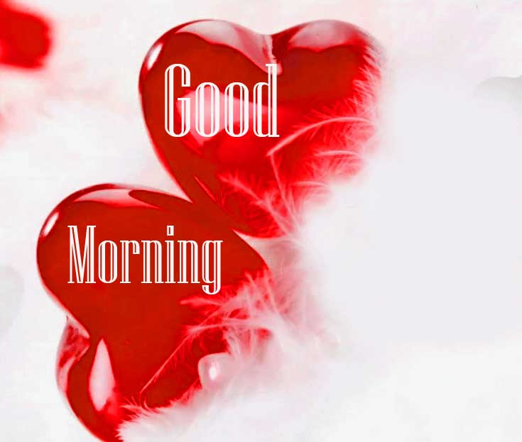 Dil Good Morning Images Pics Wallpaper Download for Love Couple In red Images