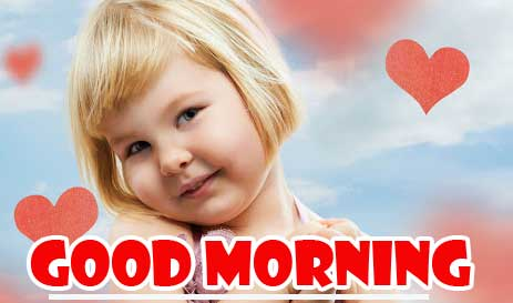 Sweet Cute baby Dil Good Morning Images Pics Download