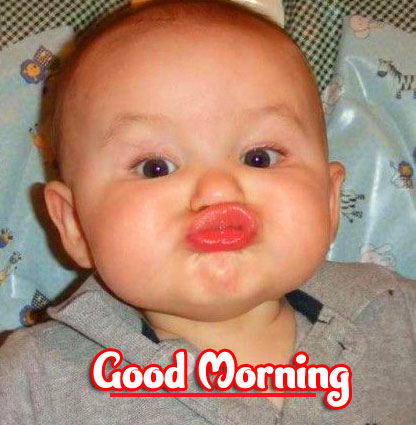 Cute Boy Funny Good Morning Wishes Pics Wallpaper Download