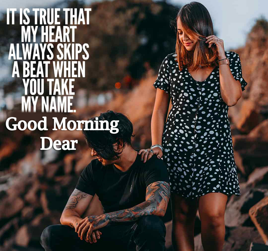 Girlfriend Romantic Good Morning Wishes Images Wallpaper for Whatsapp