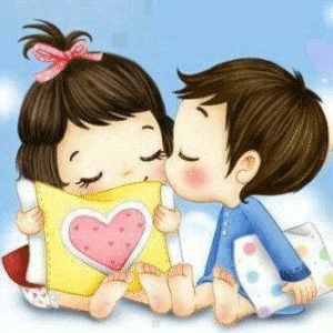 Girlfriend Whatsapp DP Images Wallpaper With Cartoon