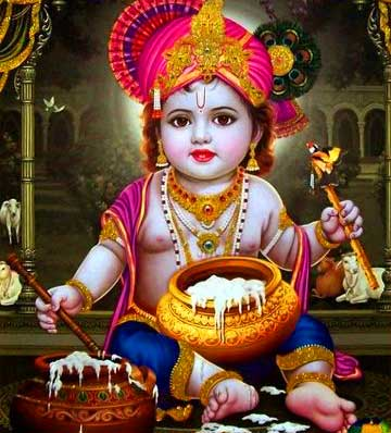 Bal Krishna Hindu God Images For Android Mobile Phone Pics Download