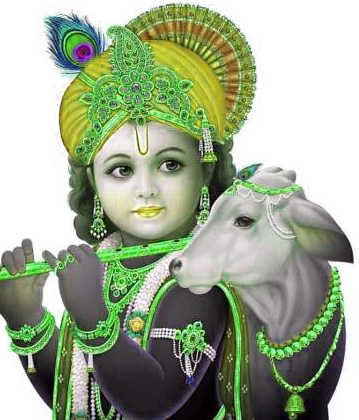 God Whatsapp DP Profile Images Wallpaper Photo With Krishna