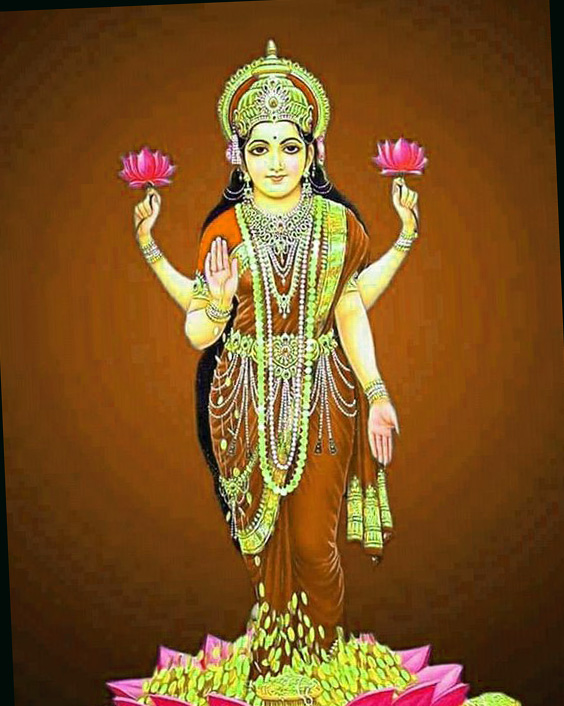Maa Laxmi God Whatsapp DP Profile Images Pics Wallpaper Free Download