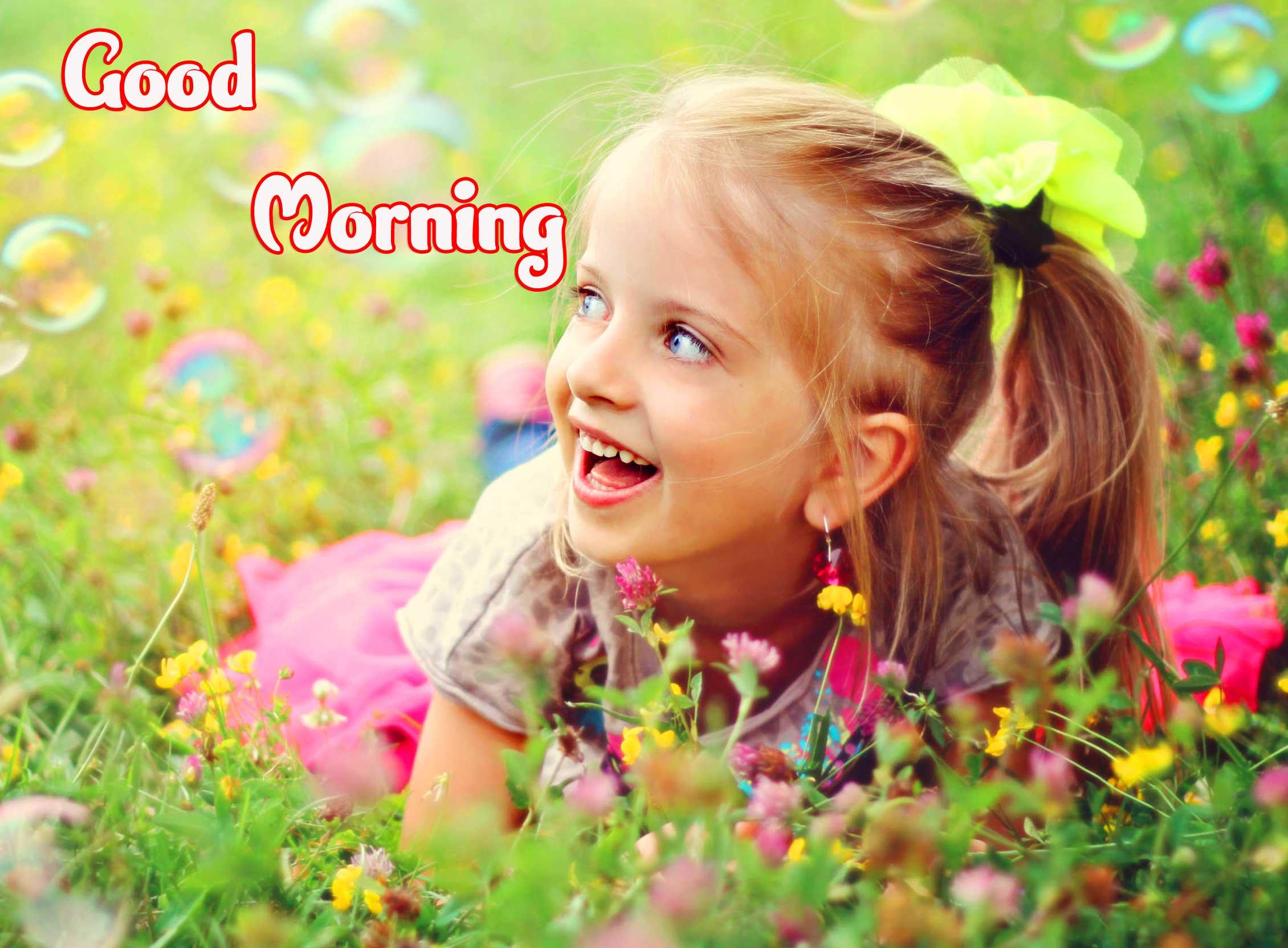 New Latest Good Morning Beautiful Ladies / Stylish Girls Images Pics Download