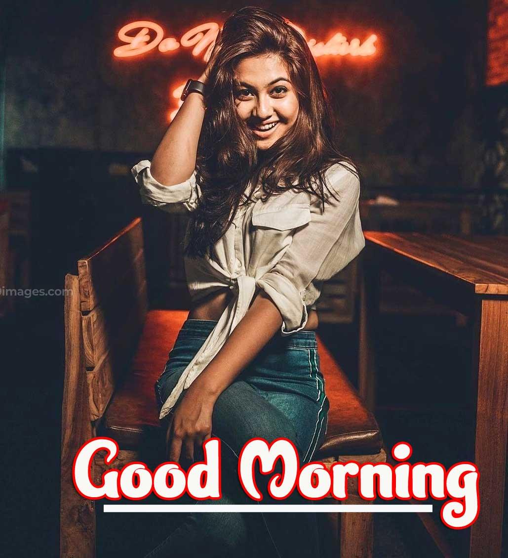 Good Morning Beautiful Ladies / Stylish Girls Images Pics Wallpaper Free Download