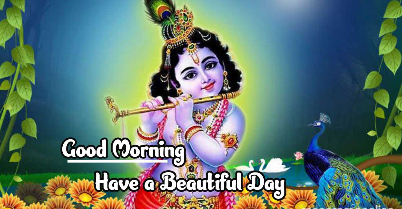 Amazing 1080 p Good Morning 4k ImagesDownload With Krishna