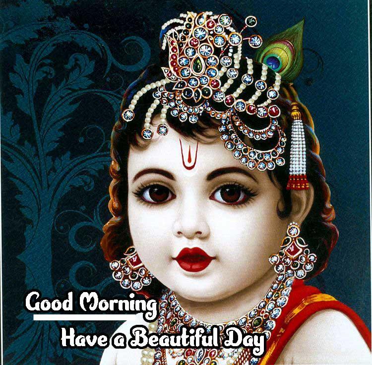 Amazing 1080 p Good Morning 4k ImagesPics Wallpaper HD With Krishna
