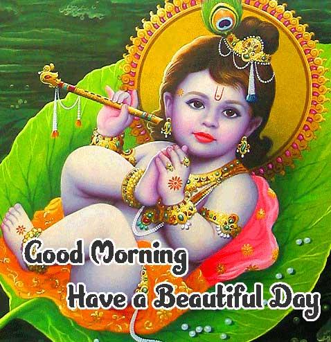 Amazing 1080 p Good Morning 4k ImagesPhoto With Krishna