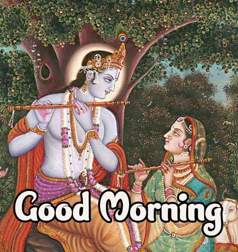 Krishna Good Morning Photo Pic Download