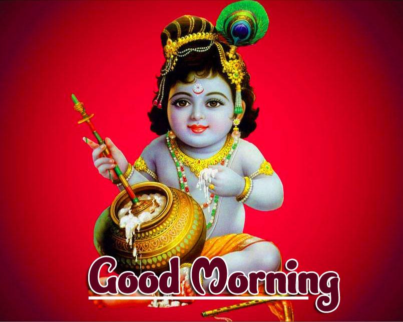 God Krishna Good Morning Images Pictures Download