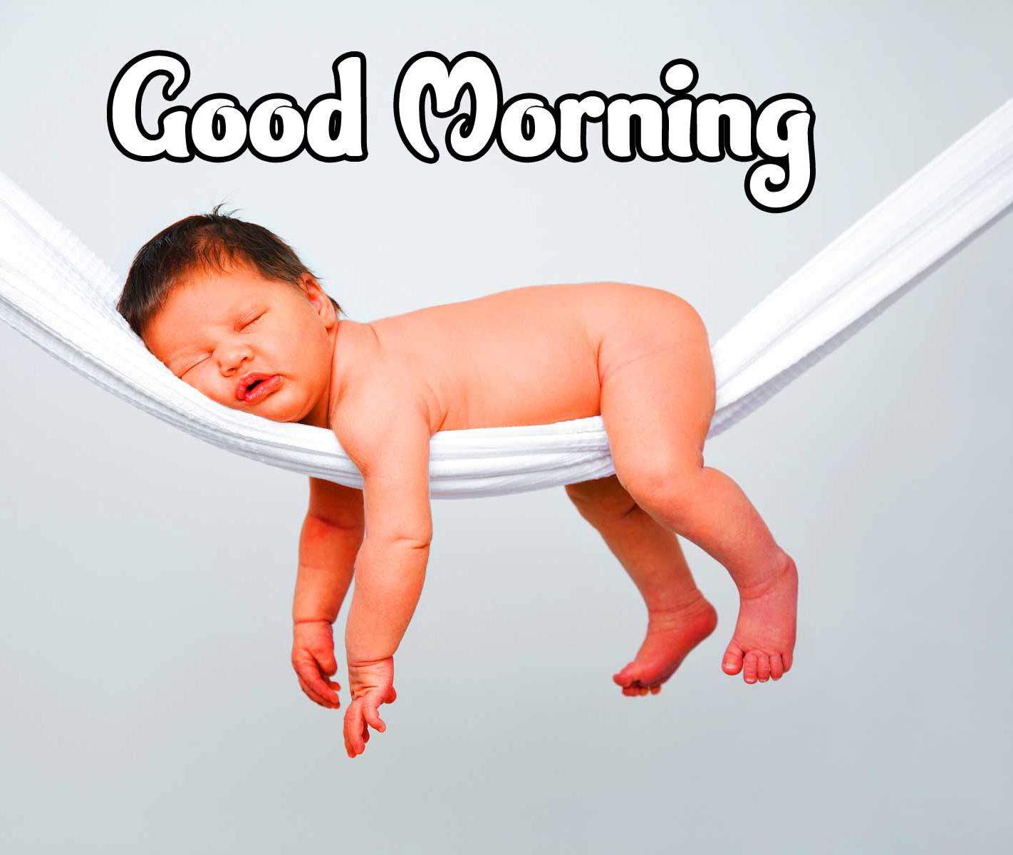 Good Morning Small Baby Images Pics Wallpaper HD