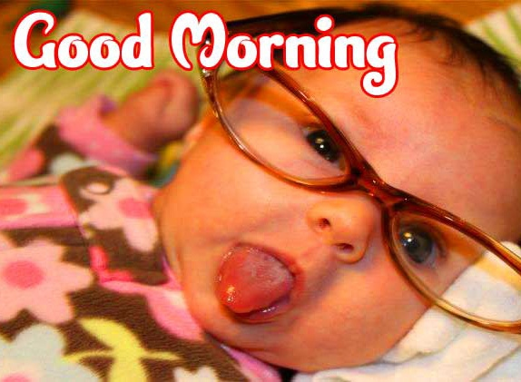 Good Morning Small Baby Images Pics for Whatsapp / Facebook