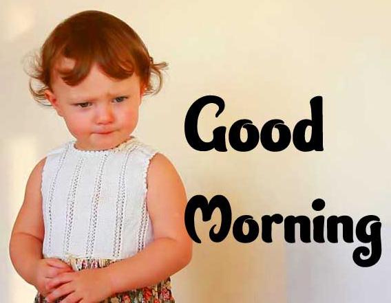 Good Morning Small Baby Images Pics Wallpaper Download