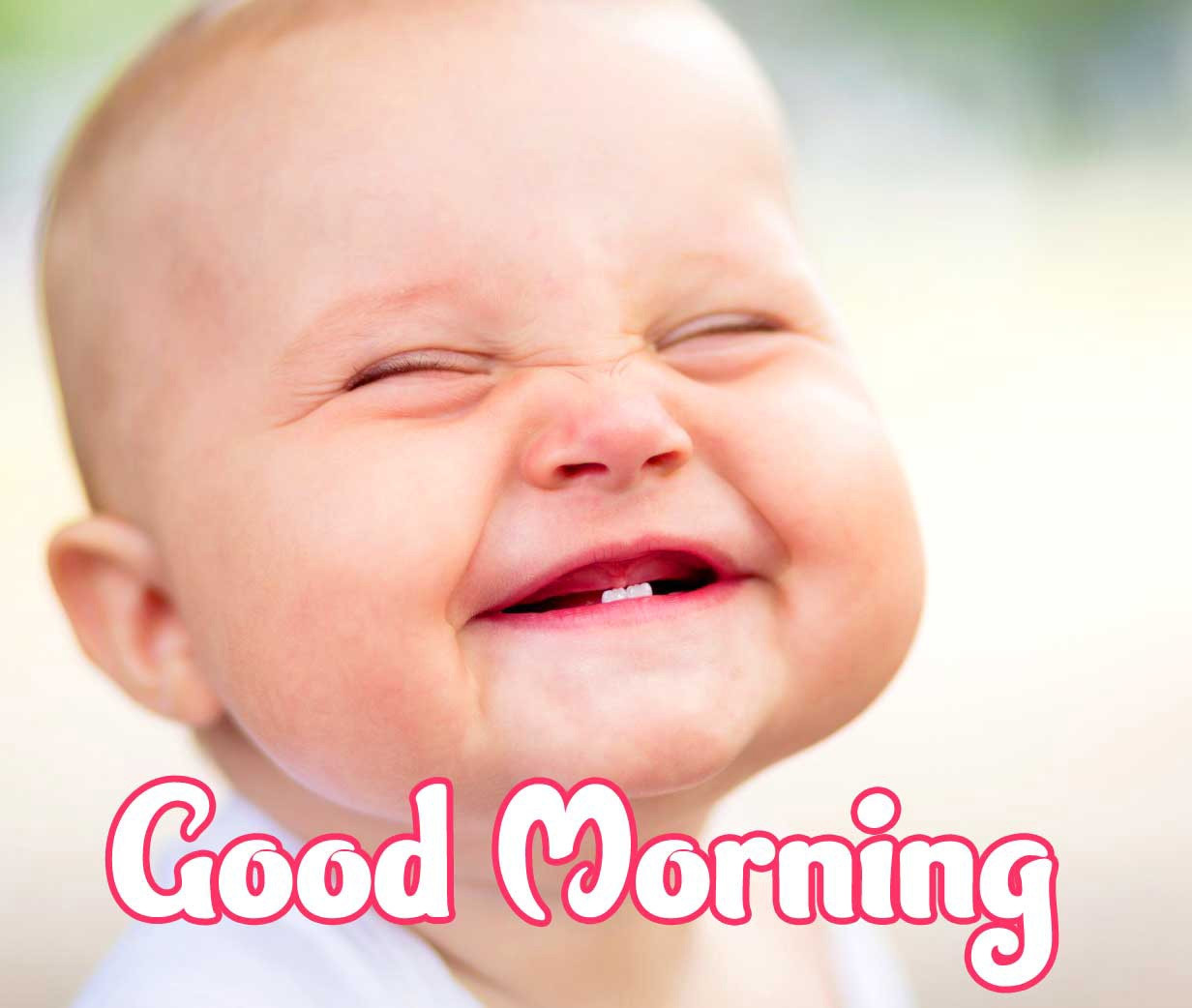 Good Morning Small Baby Images Pics Latest Download