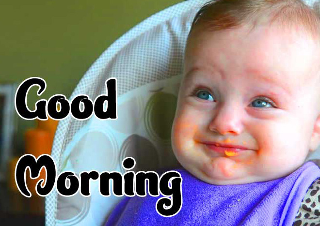 Good Morning Small Baby Images Pics Download