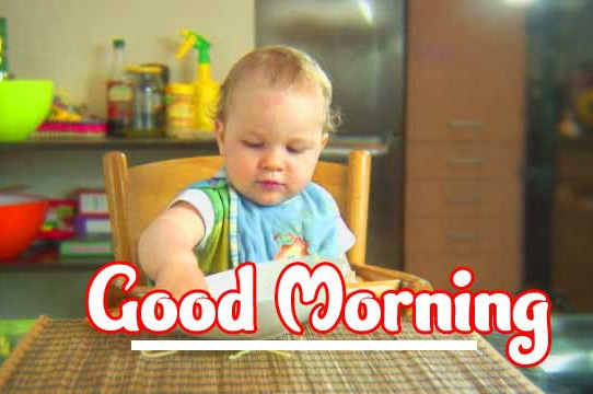 Good Morning Small Baby Images Wallpaper Pics for Facebook