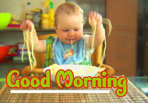 Good Morning Small Baby Images Wallpaper for Facebook