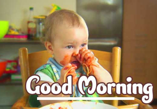 Good Morning Small Baby Images Pics Wallpaper Download Latest