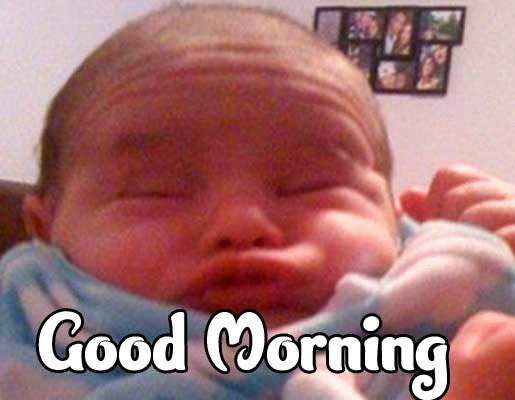 Latest Free Good Morning Small Baby Images Pics Download