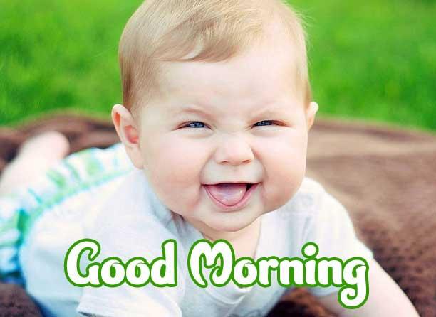 Good Morning Small Baby Images Wallpaper Pics Download