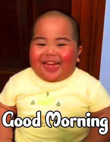 Good Morning Small Baby Images HD Download Free