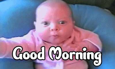 Good Morning Small Baby Images Pics Wallpaper Free Download
