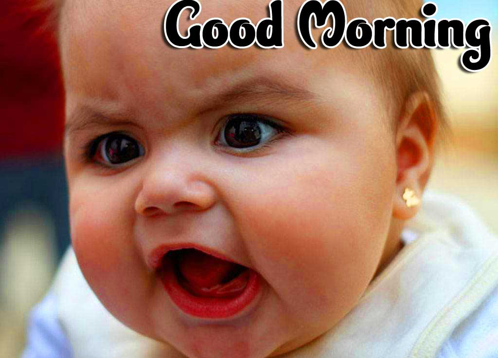 Good Morning Small Baby Images Pics Dp