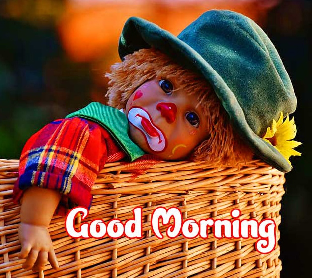 Good Morning Small Baby Images Wallpaper