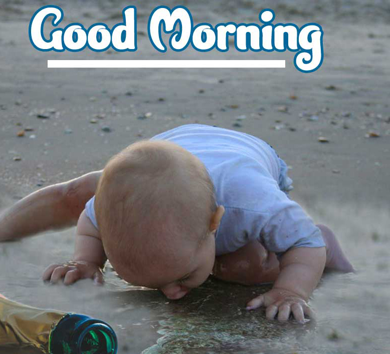Good Morning Small Baby Images Pics Free Download