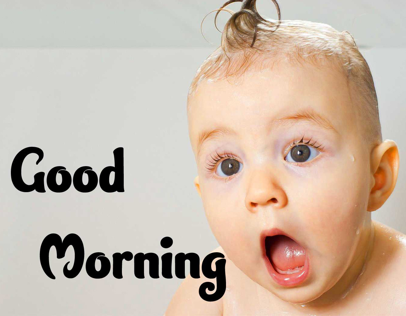 Good Morning Small Baby Images Wallpaper Latest Download