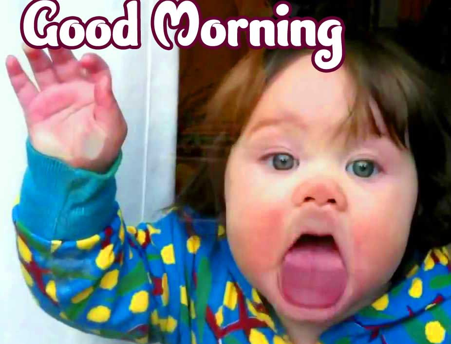 Good Morning Small Baby Images Pics for Facebook