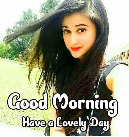 Girls Good Morning Wallpaper Pics Free for Whatsapp