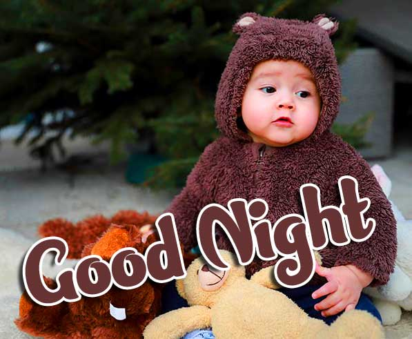 Latest Free Cute Babies Good Night ImagesPics Download
