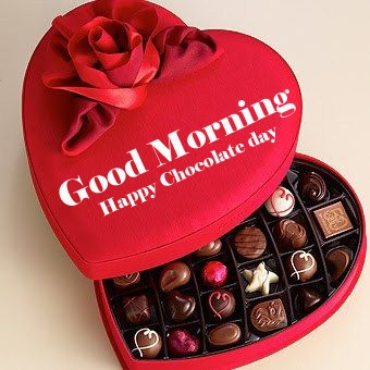 Happy Chocolate Day Good Morning Images Wallpaper Latest Download